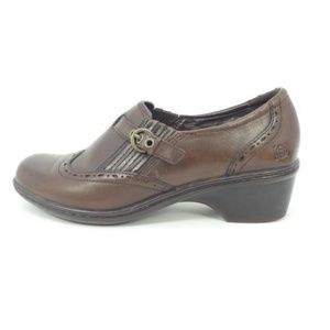 Earth Origins Shoes - Earth Origins Brown Leather Wingtip Shoes  (64)